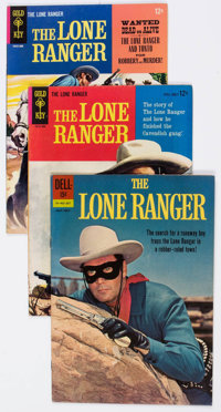 Lone Ranger Group of 18 (Dell/Gold Key, 1962-74) Condition: Average VF.... (Total: 18 Comic Books)