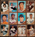 Baseball Cards:Lots, 1962 Topps Baseball Collection (176)....