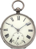 Timepieces:Pocket (pre 1900) , Bennett Norwich Very Fine Rack Lever Fusee, circa 1830's. ...