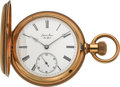 Timepieces:Pocket (pre 1900) , Jaques & Marcus New York High Grade Unused 18k Gold Hunters Case, circa 1890. ...