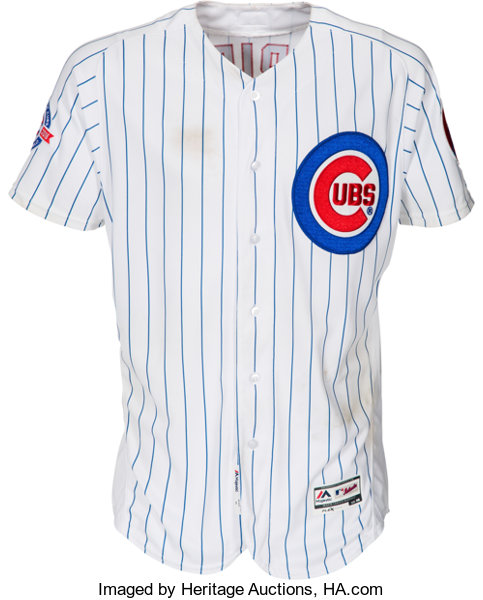 7f2b84606 Baseball Collectibles:Uniforms, 2016 Jake Arrieta Game Worn Chicago Cubs  Jersey.