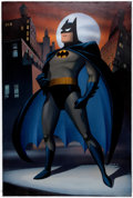 Animation Art:Concept Art, John Calmette Batman: The Animated Series Painting (WarnerBrothers, c. 1990s)....