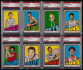 Basketball Cards:Lots, 1972 Topps Basketball PSA Graded Collection (20). ...