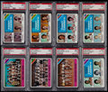 Basketball Cards:Lots, 1975 Topps Basketball PSA Graded Collection (20). ...