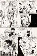 Original Comic Art:Panel Pages, George Perez and Dick Giordano The New Teen Titans #1 (Keebler Giveaway) Page 11 Original Art (DC, 1983)....