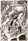 Original Comic Art:Splash Pages, John Byrne Illustration Original Art (undated)....