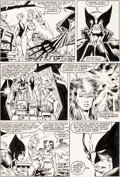 Original Comic Art:Panel Pages, Marc Silvestri and Joe Rubinstein The X-Men vs. The Avengers#1 Page 16 Original Art (Marvel, 1987)....