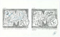 Original Comic Art:Miscellaneous, S. Clay Wilson - MTV Animation Proposal Preliminary OriginalArtwork Group of 10 (c. 1990s)....