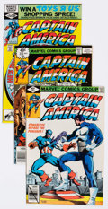 Modern Age (1980-Present):Superhero, Captain America #233-284 Near Complete Range Group of 51 (Marvel, 1979-83) Condition: Average VF+.... (Total: 51 Comic Books)