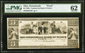 Obsoletes By State:Ohio, Portsmouth, OH- Commercial Bank of Scioto $3 G22 Wolka 2257-09Proof. ...