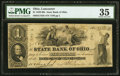 Obsoletes By State:Ohio, Lancaster, OH- State Bank of Ohio, Hocking Valley Branch $1 May 24,1860 G752b; Wolka 1444-07. ...
