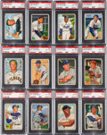 Baseball Cards:Sets, 1952 Bowman Baseball Complete Set (252). ...