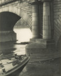 Photographs:Photogravure, Alvin Langdon Coburn (British, 1882-1966). Under the ThamesBridge, London, circa 1909. Photogravure. 8 x 6-3/8 inches (...
