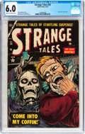 Golden Age (1938-1955):Horror, Strange Tales #28 (Atlas, 1954) CGC FN 6.0 Cream to off-white pages....