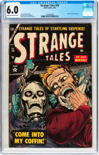 Strange Tales #28 (Atlas, 1954) CGC FN 6.0 Cream to off-white pages