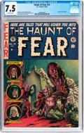 Golden Age (1938-1955):Horror, Haunt of Fear #14 (EC, 1952) CGC VF- 7.5 Off-white pages....