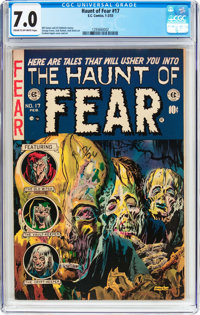 Haunt of Fear #17 (EC, 1953) CGC FN/VF 7.0 Cream to off-white pages