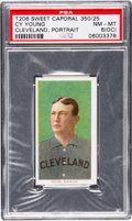 Baseball Cards:Singles (Pre-1930), 1909-11 T206 Sweet Caporal Cy Young (Portrait) PSA NM-MT 8 (OC)....