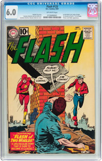 The Flash #123 (DC, 1961) CGC FN 6.0 Off-white pages