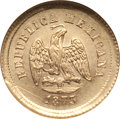 Mexico, Mexico: Republic Gold 2-1/2 Pesos 1873 Zs-H EF45, Cleaned ANACS,...