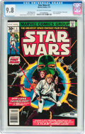 Bronze Age (1970-1979):Superhero, Star Wars #1 (Marvel, 1977) CGC NM/MT 9.8 Off-white to white pages....