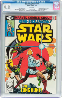Star Wars Annual #1 (Marvel, 1979) CGC NM/MT 9.8 White pages