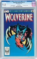 Modern Age (1980-Present):Superhero, Wolverine #2 (Marvel, 1982) CGC NM/MT 9.8 White pages....