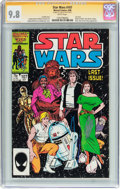 Modern Age (1980-Present):Science Fiction, Star Wars #107 Signature Series (Marvel, 1986) CGC NM/MT 9.8 Whitepages....