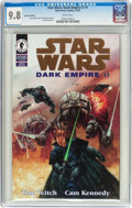 Modern Age (1980-Present):Science Fiction, Star Wars: Dark Empire II #1 Gold Foil Edition (Marvel, 1994) CGC NM/MT 9.8 White pages....