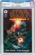 Modern Age (1980-Present):Science Fiction, Star Wars: Dark Empire II #4 Gold Foil Edition (Marvel, 1995) CGCNM/MT 9.8 White pages....