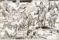 Original Comic Art:Splash Pages, Gary Kwapisz and Ernie Chan Savage Sword of Conan #147Double Splash Pages 40-41 Original Art (Marvel, 1988)....