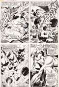 Original Comic Art:Panel Pages, John Buscema and Frank Giacoia Sub-Mariner #2 Page 2Original Art (Marvel, 1968)....
