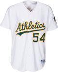Baseball Collectibles:Uniforms, 1993 Goose Gossage Game Worn Oakland Athletics Jersey withCardinals Team Provenance....