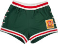 Basketball Collectibles:Uniforms, 1977 George McGinnis Game Worn NBA All Star Game Shorts....