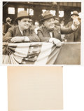 Baseball Collectibles:Photos, 1937 Major League Baseball News Photographs Lot of 37....