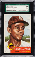 Baseball Cards:Singles (1950-1959), 1953 Topps Satchell Paige #220 SGC 96 Mint 9 - The Reigning SGCChampion! ...