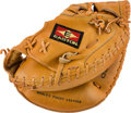 Baseball Collectibles:Others, Circa 1990 Gary Carter Game Used Catcher's Mitt from The GaryCarter Collection....