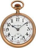 Timepieces:Pocket (post 1900), Illinois Choice 24 Jewel Bunn Special. ...