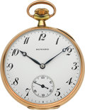 Timepieces:Pocket (post 1900), E. Howard Watch Co. 14k Gold 23 Jewel 1908 Model. ...