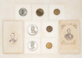 Political:Tokens & Medals, Abraham Lincoln: CDVs and Tokens....