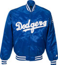 Baseball Collectibles:Others, 1991 Gary Carter Game Worn Los Angeles Dodgers Jacket from The GaryCarter Collection....