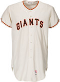 Baseball Collectibles:Uniforms, 1968 Gaylord Perry Game Worn San Francisco Giants Jersey....