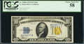 Small Size:World War II Emergency Notes, Fr. 2308 $10 1934 North Africa Silver Certificate. PCGS ChoiceAbout New 58.. ...