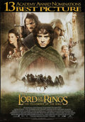 """Movie Posters:Fantasy, The Lord of the Rings: The Fellowship of the Ring (New Line, 2001).One Sheet (27"""" X 40"""") SS. Fantasy.. ..."""
