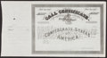 Confederate Notes:Group Lots, Ball 355 Cr. 159 No Denomination 1864 Four Per Cent CallCertificate. Very Fine.. ...