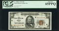 Fr. 1880-K $50 1929 Federal Reserve Bank Note. PCGS Gem New 65PPQ