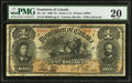 Canadian Currency: , DC-13c $1 1898.. ...