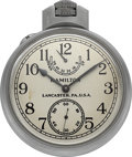 Timepieces:Pocket (post 1900), Hamilton Model 22 U.S. Navy BU Ships Deck Watch. ...