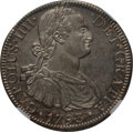Mexico, Mexico: Charles IV 8 Reales 1793 Mo-FM UNC Details (ExcessiveSurface Hairlines) NGC,...