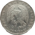 "Chile, Chile: Republic ""D/O in Dineros"" 8 Reales 1839 So-IJ XF Details(Surface Hairlines) NGC,..."
